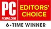 PC Magazine Editors' Choice Award winner