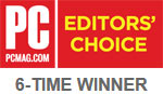 PC MAG 6-TIME WINNER