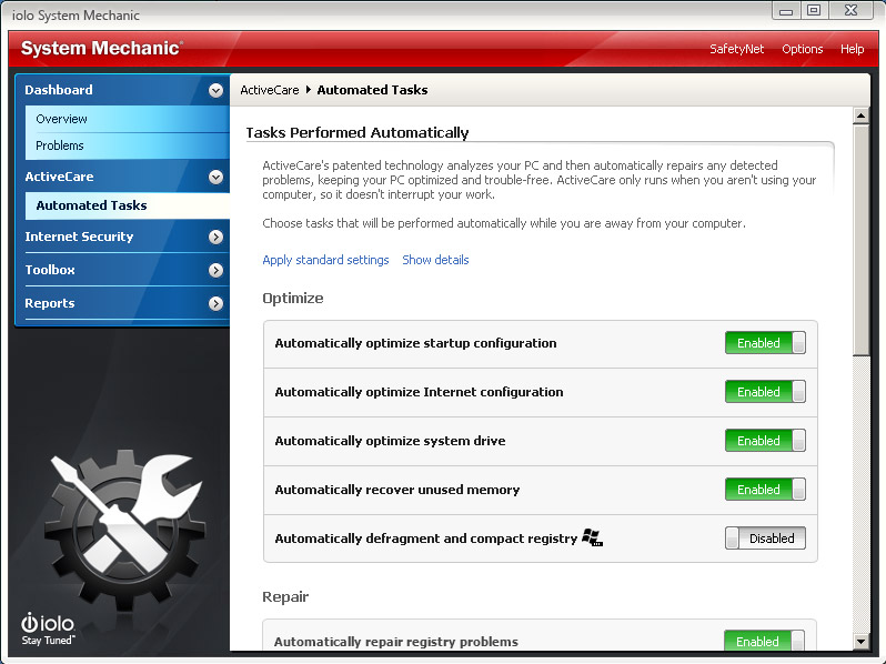 system mechanic 16.5 download